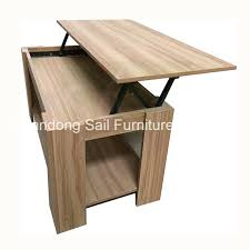 lift top wooden coffee table design