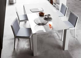 modern white dining table. modern white lacquer dining table design ideas 1