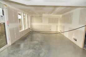 basement concrete floor paint removal