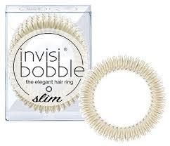 <b>Invisibobble</b> - <b>Slim</b> - <b>Stay</b> Gold (3pk) - Angel Hair & Beauty Supplies