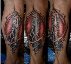 Biomechanik Stern Tattoos