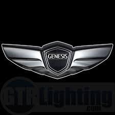 black hyundai genesis logo. Modren Hyundai On Black Hyundai Genesis Logo