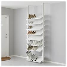 Walk shoe rack with alternating glass and wood shelves. add strip on  outside and put in christmas lights for lighting | DIY & Organization |  Pinterest ...