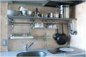 small stainless steel shelf kitchen cabinet inch stainless steel wall shelf industrial storage shelves small steel