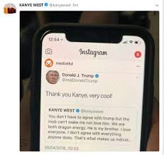 Kanye West defends his love for his 'brother' Donald Trump | Daily ...