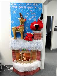office holiday decorating ideas. Office Christmas Decorations Ideas Brilliant Handmade Workstations. Images About Door Contest Cabin And 741dc1d4e54bef37a Holiday Decorating C