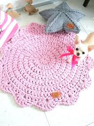 dusty pink rug next chunky double cord round with petals hippie shabby throw rugs for nursery dusty pink rug woven wool nursery