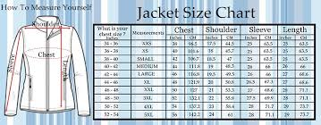 Womens Blazer Size Chart Jacket Size Chart Super Hero Jackets Movies Jacket Men