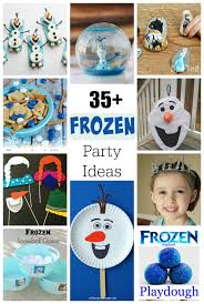 35 crafts and treats for a frozen birthday party