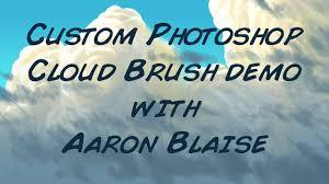 Cloud Photoshop Painting Clouds Custom Photoshop Painting Tutorial Cloud Brush