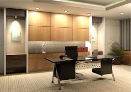 professional office decorating ideas. Simple Office Decor With Beige Carpet Black Glass Top Table And Swivel Chair: Impressive Home Designing Ideas . Professional Decorating