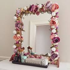 Top 25 Best Decorated Mirrors Ideas On Pinterest Diy Floral
