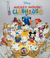 Amazoncom Disney Mickey Mouse Clubhouse Deluxe Mini Cake Toppers