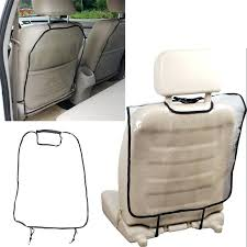 car seats transpa car seat covers back protector dust proof waterproof children kick mat protects