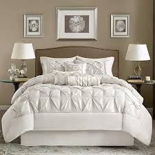 gray and white king comforter set. Delighful And Madison Park White Laurel Comforter Set  Cal King Throughout Gray And R