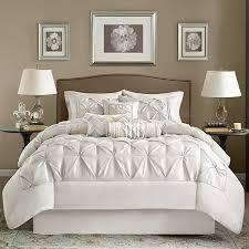 white cal king comforter. Perfect Comforter Madison Park White Laurel Comforter Set  Cal King Inside HSNcom