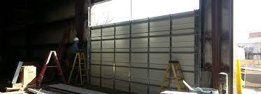 commercial garage door cut outs