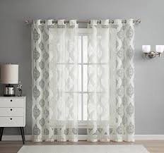 Sheer Living Room Curtains Amazon