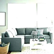 light grey couch with blue pillows living room leather sectional gray home improvement inspiring what color