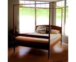 Maple Corner Woodworks Shaker 4-Post Bed Frame