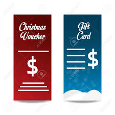 Gift Certificate Sign Christmas Voucher And Gift Certificate With Money Sign Icon On