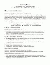 Executive Resume Example Within Hr Manager Resume Samples