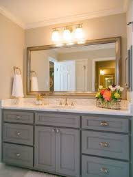 Cabinets To Go Bathroom Fixer Upper Love The Gray Cabinets With White Counte Rtops I