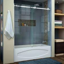 glass shower doors menards fascinating bathtub full image for trackless small size splendid sliding tub bath