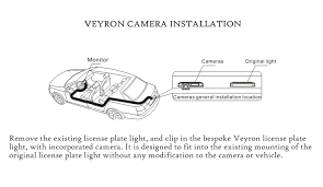 reversing rear view camera for vw polo eos passat lupo bespoke please the compatibility info below and check the number plate light on your car before ordering