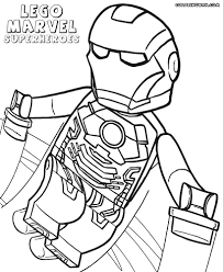 Small Picture Lego Marvel Superheroes Coloring Pages Lego Marvel Avengers