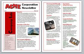 Newsletter In Word Word Creating A Table Of Contents For A Newsletter In Word Mos Expert