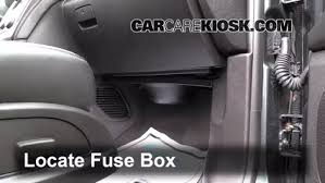 interior fuse box location 2013 2016 gmc acadia 2013 gmc acadia locate interior fuse box and remove cover