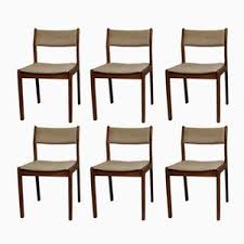 vine dining chairs by erik buch for findahl mobelfabrik set of 6