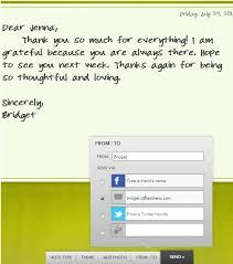 Thankuz A Wonderful Way To Send Thank You Notes Online
