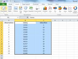 Using Excel 2010 Adding Linear Regression Trendline To A