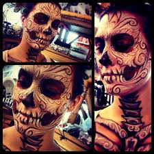 i painted my friends face for what do you think reddit makeup dead makeup day of the dead and