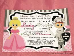 Princess Knight Birthday Party Ideas Moms Munchkins