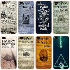 h494 harry potter coque transpa hard thin case cover for apple iphone 4 4s 5 5s