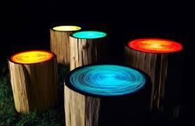 log stools diy glow diy tree diy stool