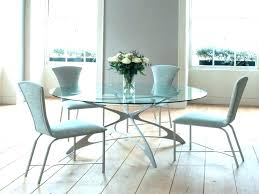 small glass dining table round cozy room tables best interior without chairs full size