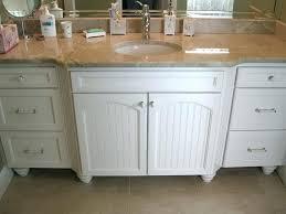 Cottage Bathroom Vanities Powder Bathroom Vanity Makeover Cottage