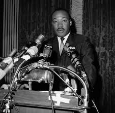 sen murphy launches martin luther king jr essay challenge civil rights leader dr martin luther king during news conference in new york on dec 4 1964 ap photo john lindsay