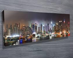 nyc skyline canvas new york skyline canvas prints australia new york nyc skyline canvas on new york city skyline wall art with nyc skyline canvas new york skyline canvas prints australia new york
