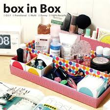 Multi Use Make up Cosmetic Storage DIY Box Organizer | eBay