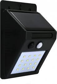 Solar Buitenlamp Led 6400k 270lm Polux Buiten Verlichting Bewegingssensor