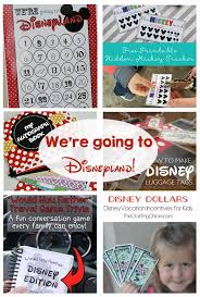 Printable Luggage Tags Disney Vacation Ideas And Printables The Crafting Chicks