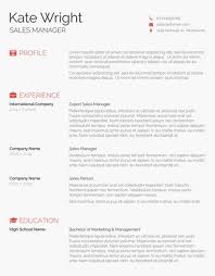 Minimalist Resume Template Free Download Best of 24 Free Resume Templates For Word [Downloadable] Freesumes