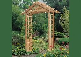 Small Picture Plain Garden Archway Arch Trellis Modern How To In Ideas