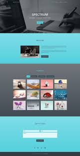 one page website template spectrum free one page portfolio bootstrap website template