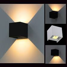 cool up down outdoor wall sconce awesome led outdoor wall sconce great home decor